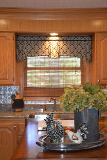 country kitchen valance