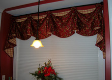 contrast colors valance