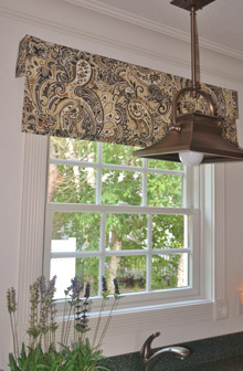 laundry custom valance